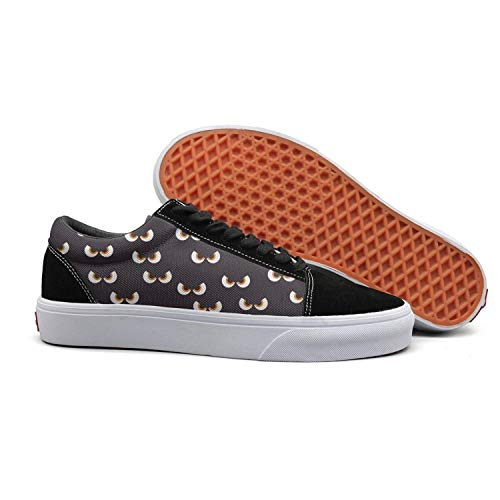Scary Halloween Props Eye Halloween Mens Casual Shoes Flat Slip on New - Rob Complete Skateboards