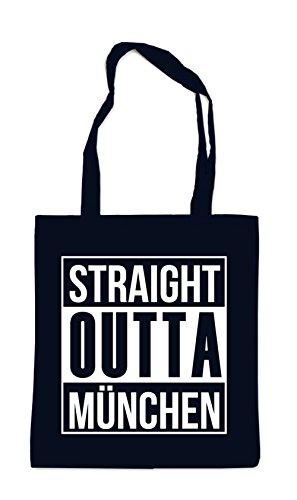 Straight Outta München Bag Black