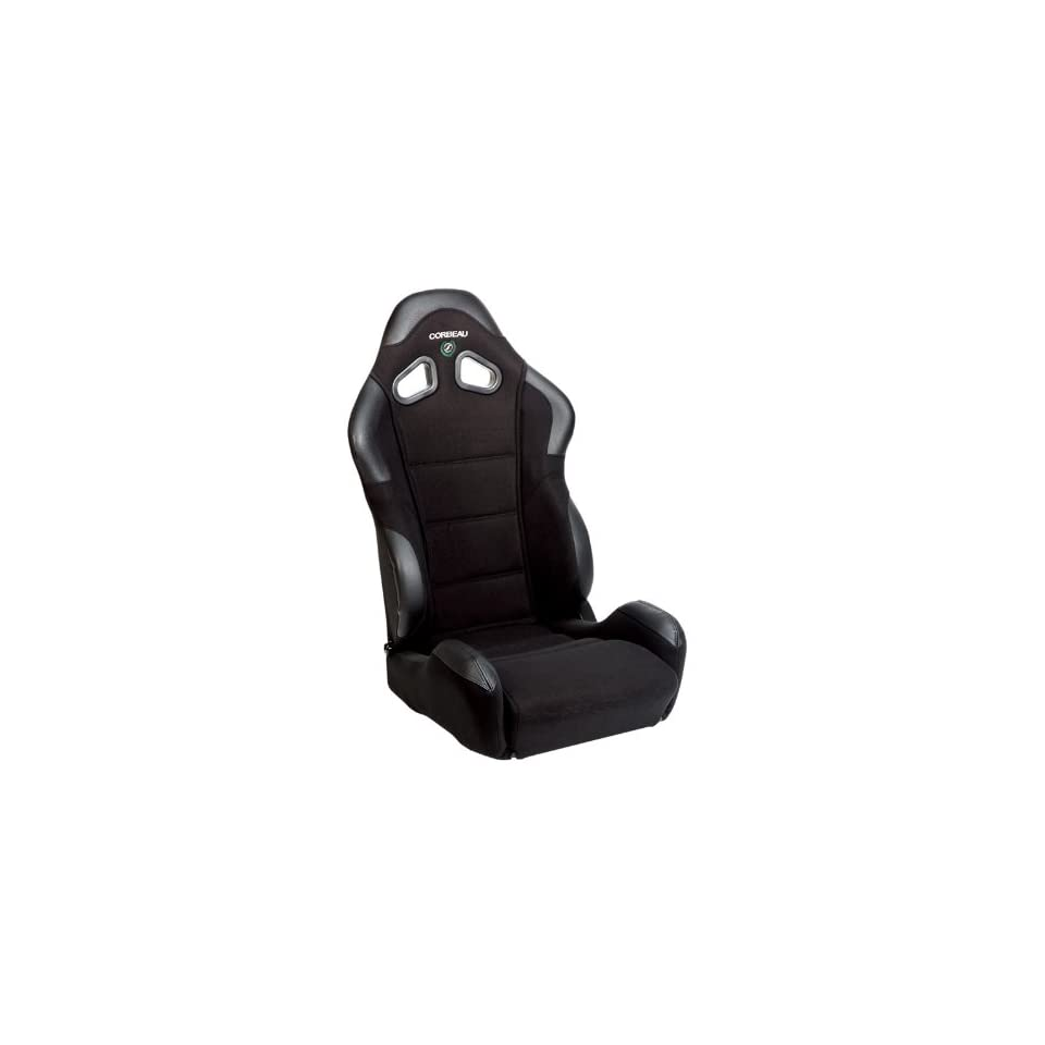 CR1 Black Cloth Racing Reclining Seat