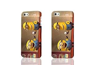 Despicable Me Custom Diy Unique Image Durable 3D Case Iphone 5 5S Hard Case Cover
