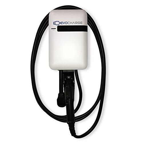 EVoCharge EVoInnovate, Level 2 EV Charger, 240 Volt 32 Amp Electric Vehicle Charging Station, UL Listed EVSE, Wall Mount & Portable, Adjustable Current Output - Charge up to 8X Faster Than Level 1