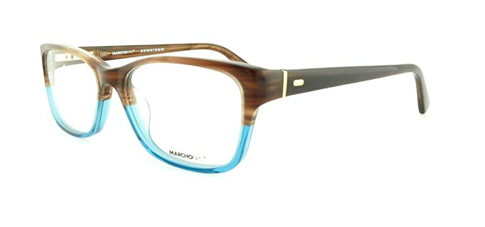 c6670fdb0a1 Image Unavailable. Image not available for. Color  MARCHON Eyeglasses M-FIT  214 Havana Teal Fade 50MM
