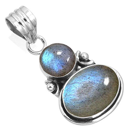 925 Sterling Silver Women Jewelry Natural Labradorite for sale  Delivered anywhere in USA