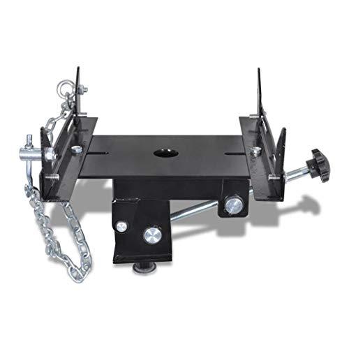 vidaXL Adapteur pour cric de transmission 500 kg Largeur et angle réglables