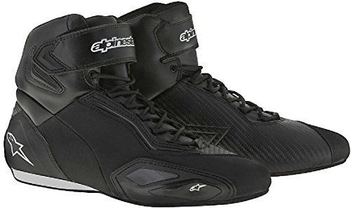 Alpinestars Faster 2 Short Casual Urban Motorcycle Boots/Shoes Black (44)