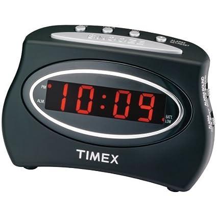 8106666927ad Timex T101 - Despertador (LED