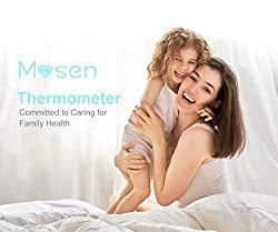 Mosen Baby Thermometer, Thermometer for Fever Ear and Forehead, Kid and Adult Thermometer,4 Modes Digital Medical Infrared Thermometro for Body, Surface and Room