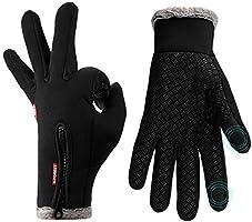 Handschuhe Herren,Lzfitpot Winterhandschuhe bis zu -40℃ Damen Handschuhe Touchscreen Warm Fahrradhandschuhe...