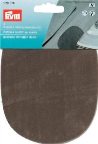 1 opinioni per Prym-14 x 10 cm, confezione da 2 toppe in finto scamosciato, per stirare,