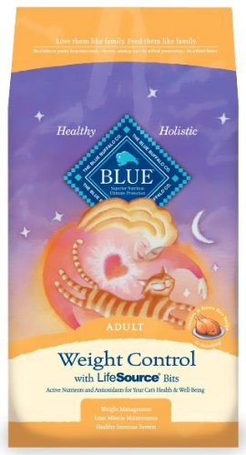 Blue Buffalo Spa Select Weight Control Dry Cat Food, Chicken and Brown Rice Recipe, 7-Pound Bag, My Pet Supplies