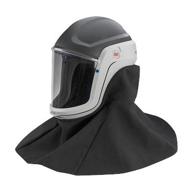 3M M-407 Versaflo Respiratory Helmet Assembly with Premium Visor and Flame Resistant (Helmet Assembly)