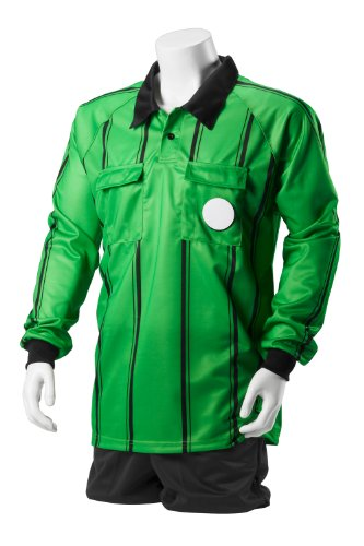Kwik Goal Premier Referee Long Sleeve Jersey, Yellow, ()