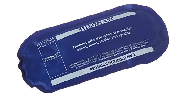 Steroplast Blue Hot Cold Pack freezer microwave toothache swelling muscle aches by Steroplast: Amazon.es: Salud y cuidado personal