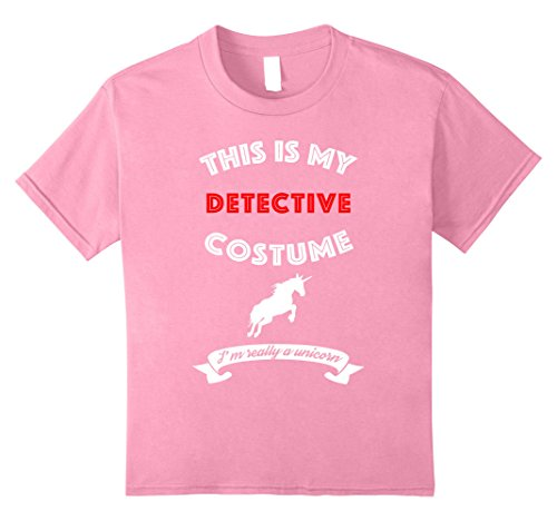 Kids This Is My Detective Costume I'm Really Unicorn T-Shirt 10 (Really Scary Halloween Party Ideas)
