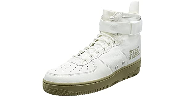 2ea849e775 Nike Men's SF AF1 Mid Ivory/Ivory Neutral Olive Basketball Shoe 9.5 ...