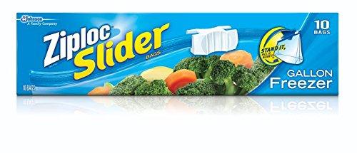 ziploc slider freezer bags gallon - 4