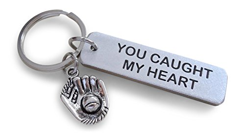 Aluminum Tag Keychain Engraved with