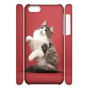 LJF phone case C-Y-F-CASE DIY Design Funny And Cute Cat Pattern Phone Case For iphone 6 4.7 inch