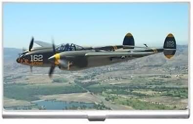 New P-38 Lighting Business Credit Card Holder Case