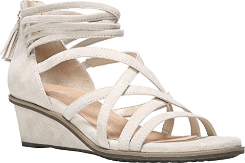 Dr. Scholls Womens Granted - Original Collection Greige Suede