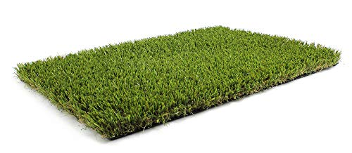 - Synturfmats Premium Indoor/Outdoor Artificial Grass Turf for Pets - 3.3'x5' Decorative Synthetic Turf Runner Rugs Carpet