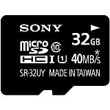ソニー SONY microSDHCカード 32GB Class10 UHS-I対応 SDカードアダプタ付属 SR-32UYA [国内正規品]