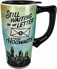 Spoontiques Letter to Hogwarts Ceramic Travel Mug Multicolored One Size
