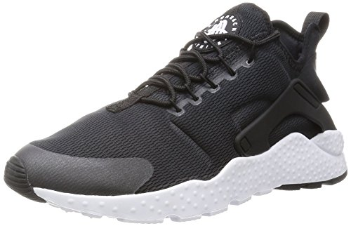 Nike Womens Air Huarache Run Ultra Nero / Bianco Scarpa Da Corsa 7 Donne Us