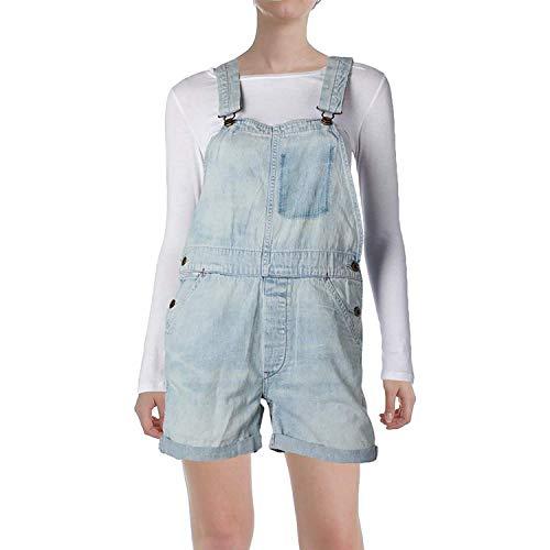 (Denim & Supply Ralph Lauren Women's Classic Denim Overall Blue XS )