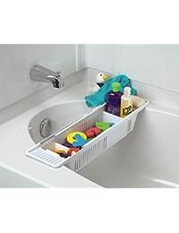 KidCo Bath Toy Organizer Storage Basket, White BOBEBE Online Baby Store From New York to Miami and Los Angeles