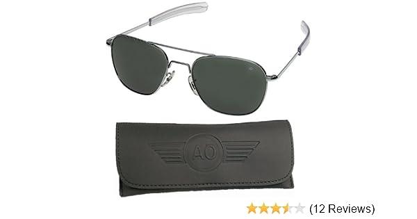 Amazon.com  American Optical Flight Gear Original Pilot Sunglasses ... 068ce13ea0b