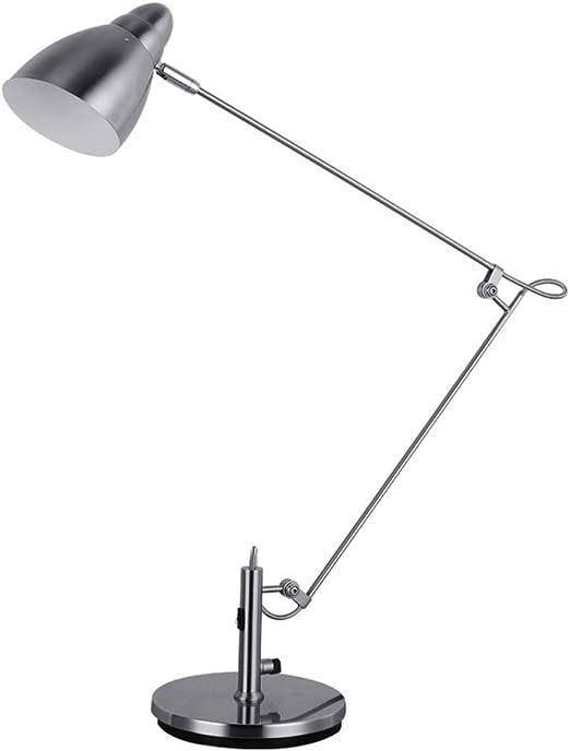 Ajustable LED Lámpara de Mesa E27 Protección para los Ojos Luz de ...