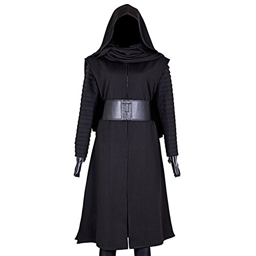 CG Costume Men's Kylo Ren Robes Outfit Cosplay Costume Large]()