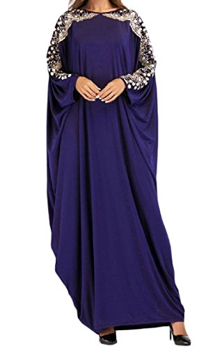 YUNY Women's Sequin Muslim Islamic Bat Sleeve Plus-Size for sale  Delivered anywhere in USA
