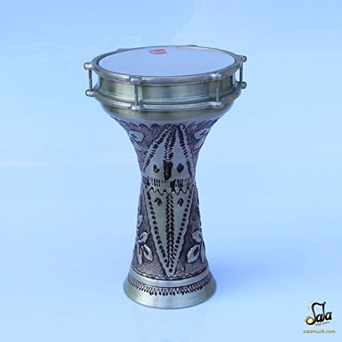 Turkish Darbuka Drum Doumbek Tombak CTD-125EP by trirmusic