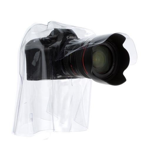 Ewa-Marine EM C-35 Professional Rain Cape/Hurricane Hood Glass Optical Front Port (Clear)