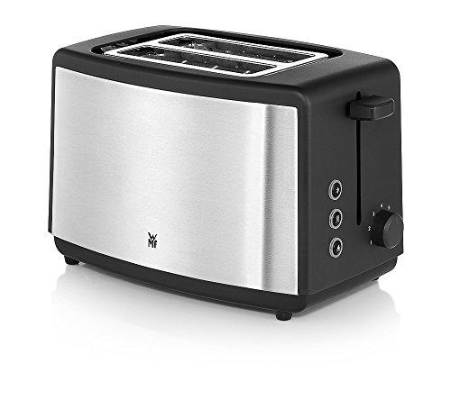 WMF BUENO Toaster Edition, integrierter Brötchenwärmer, 7 Bräunungsstufen, cromargan matt/silber