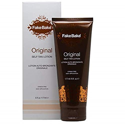 Fake Bake Original Self-Tanning Lotion | Fast Acting, Natural Looking Sunless Tan For All Skin Tones | Streak Free…