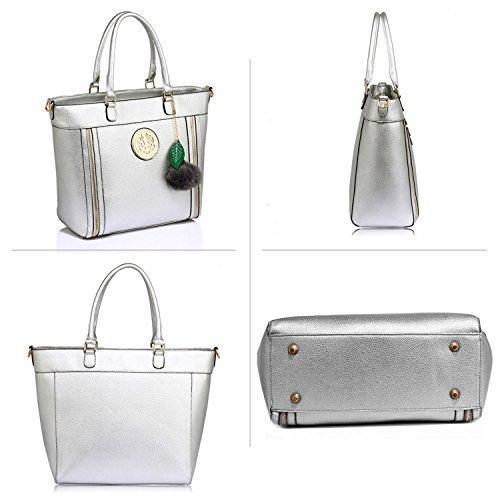Xardi London, Borsa a spalla donna Silver Style 2