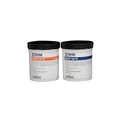 (Polytek Platsil Gel-10 Platinum Silicone Rubber (2lb)