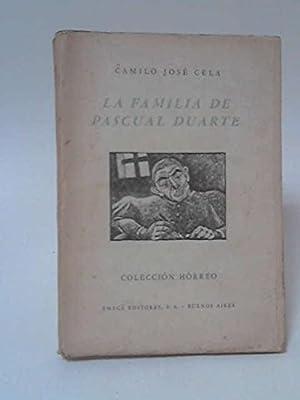 LA FAMILIA DE PASCUAL DUARTE: Amazon.es: Cela, C J: Libros