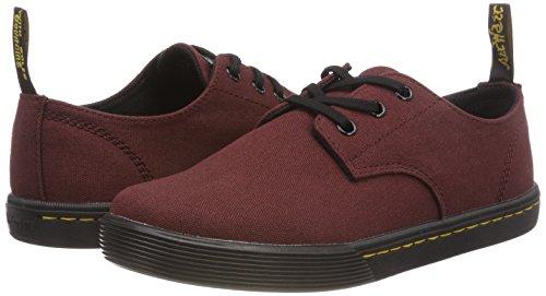 Cordones Mujer old Rojo Derby Zapatos Oxblood Santanita 626 Dr Para De Martens H7gwxOnq6I