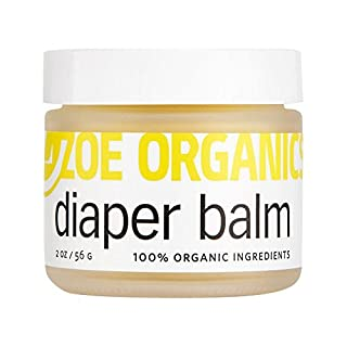 Zoe Organics - Diaper Balm, Protects Baby's Sensitive Skin from Moisture and Bacteria, Soothes and Treats Diaper Rash, Helps Prevent Rashes, Goes on Clear (2 Ounces)