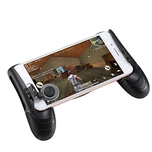 Price comparison product image Kanzd PUBG Artifact,  PUBG Game Controller Mobile Joystick Gamepad Ergonomic Design Handle Holder (Black)