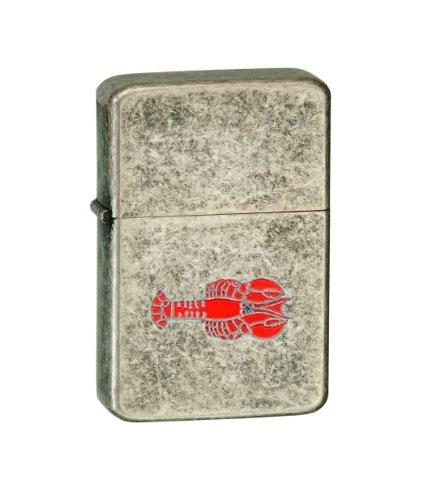 Vector-KGM-Thunderbird-Emblem-Vintage-Copper-Lighter-Animal-Crustacean-Pins-Lobster