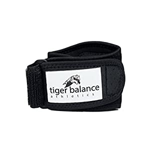 Tennis Elbow Brace with Gel Compression Pad - Best Elbow Band for Relief from Tennis & Golfer's Elbow & Forearm Pain