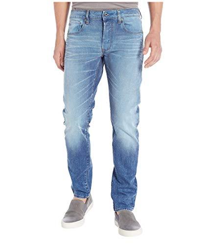 (G-Star Raw Men's 3301 Slim Jean, lt Aged, 28)
