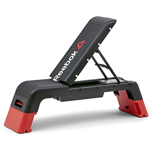 Cheap Reebok Professional Deck Workout Bench, Black