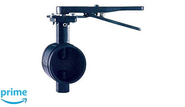 Shurjoint SJ300NL4T-G Ductile Iron Butterfly Valve with Lever Handle