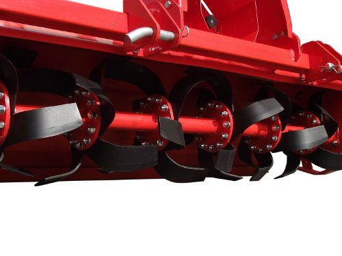 3pt Rotary Tiller Accubic#rta56, Cat1, 56in.working Width, Gear Drive, 36 Blades, Offset, Slip Clutch PTO by ACCUBIC (Image #5)